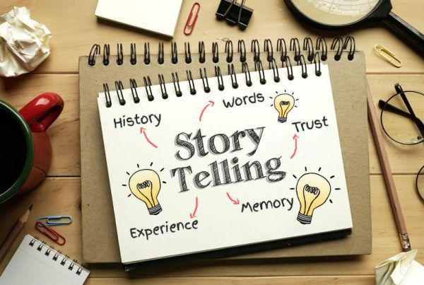 Podcast storytelling with data